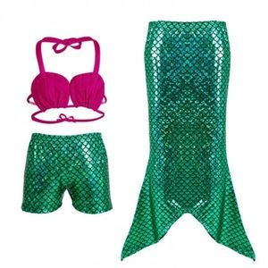 Other - 3 piece mermaid swim set